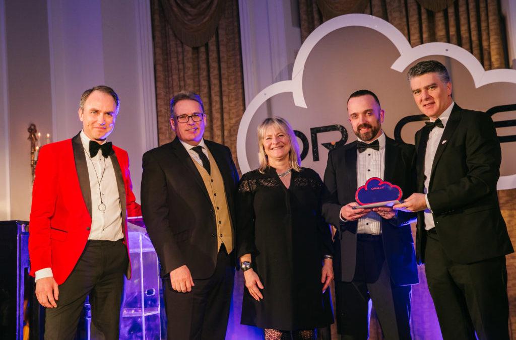 Vertice Win Oracle Ireland Partner Of The Year 2018