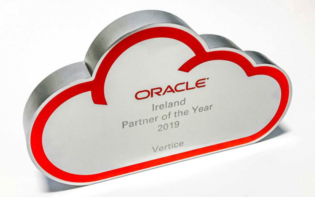 Vertice win Oracle Partner of the Year 2019