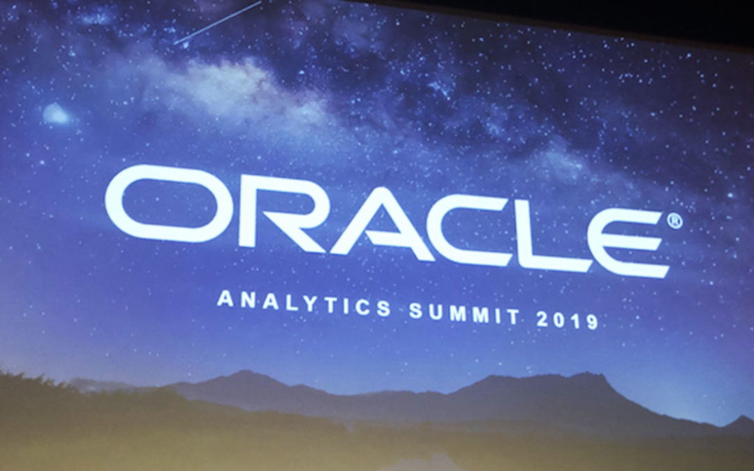 Oracle's Analytics Summit 2019