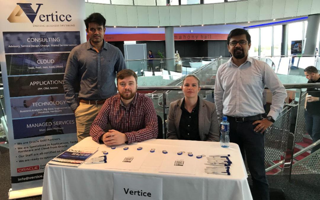 Vertice Stall at DCU Graduate Fair