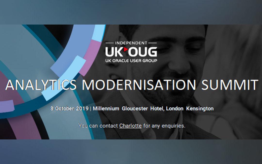 Vertice Present at Analytics Modernisation Summit
