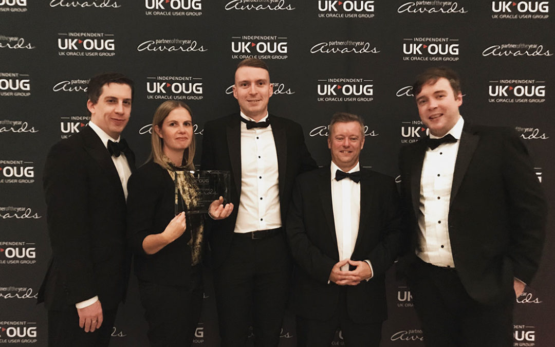 Vertice Win at UKOUG Partner of the Year 2019/2020